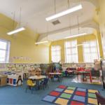 School classroom lighting
