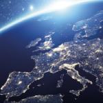 Image of lighting across Europe