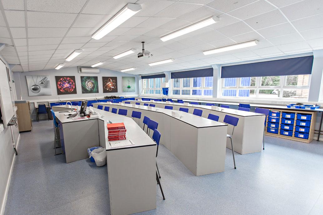 Image of classroom lighting