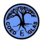 Coed Glas logo