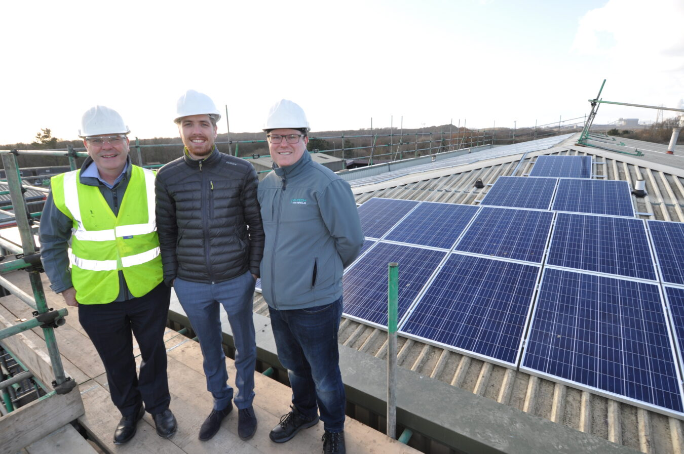 Solar PV from Ineco Energy on the roof at R-Tech Materials