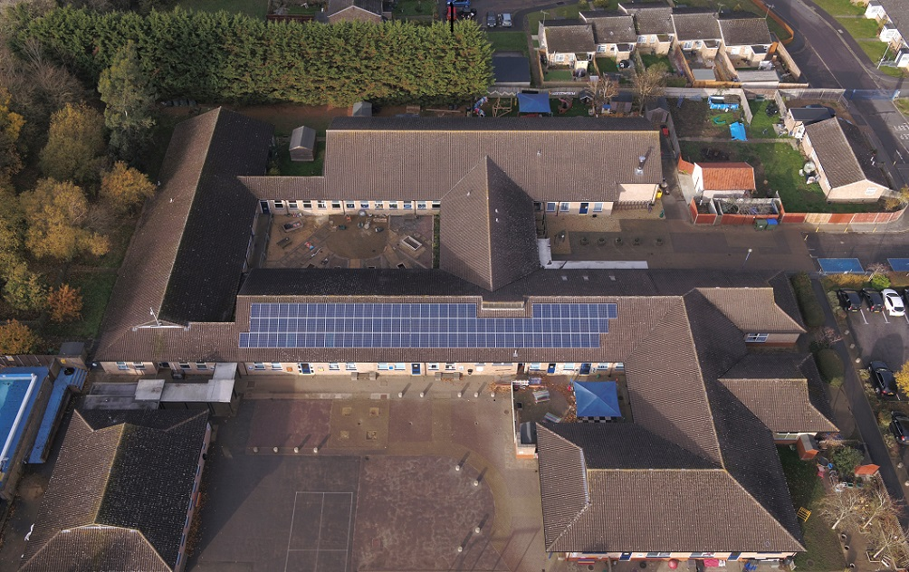 Winslow Primary School solar panels