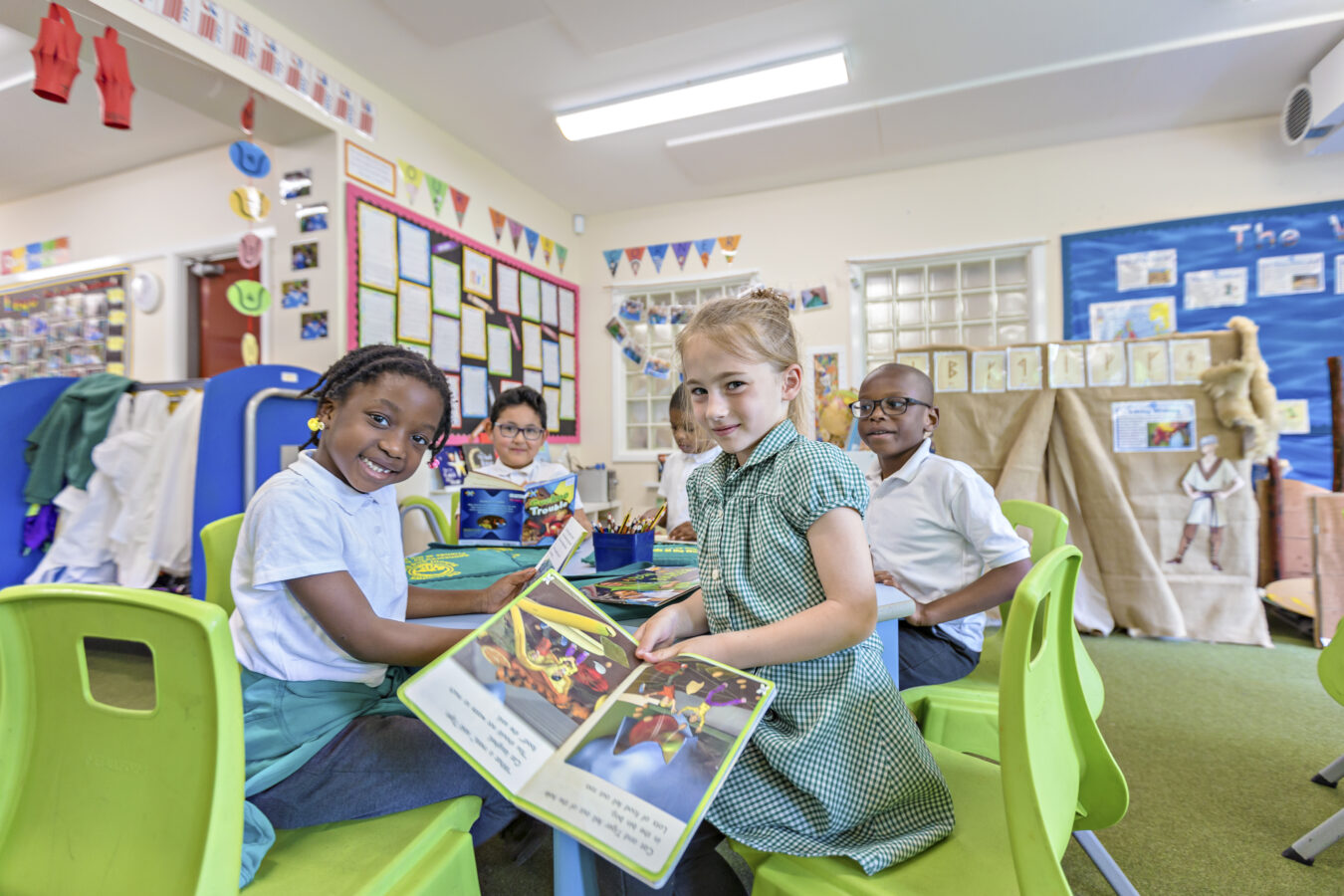 Brighter LED classroom lighting at Bishop Childs Primary School