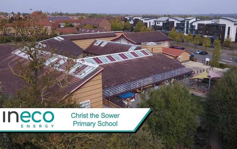 Christ the Sower Primary School solar panels