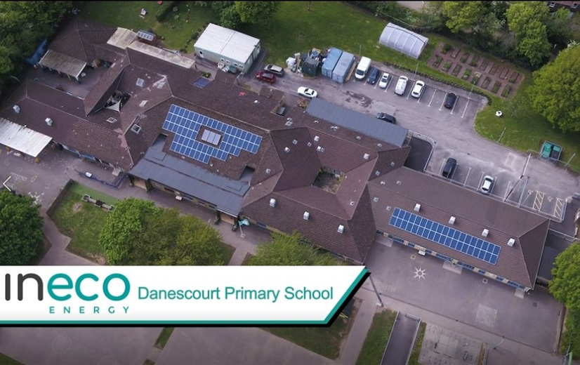 Danescourt Primary School solar panels
