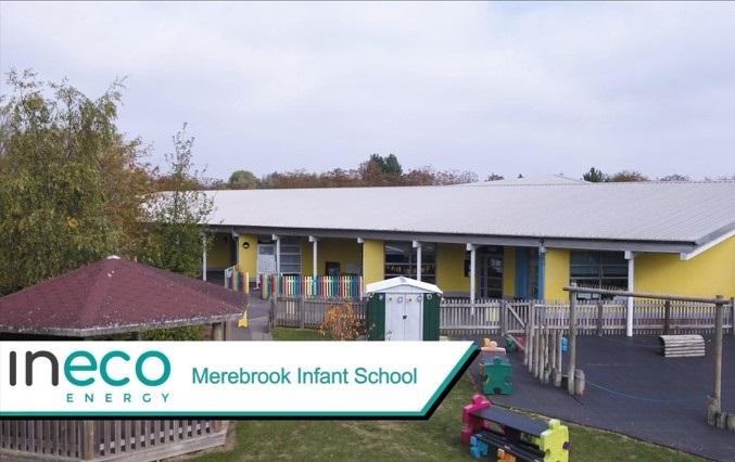 Merebrook Infant School solar panels