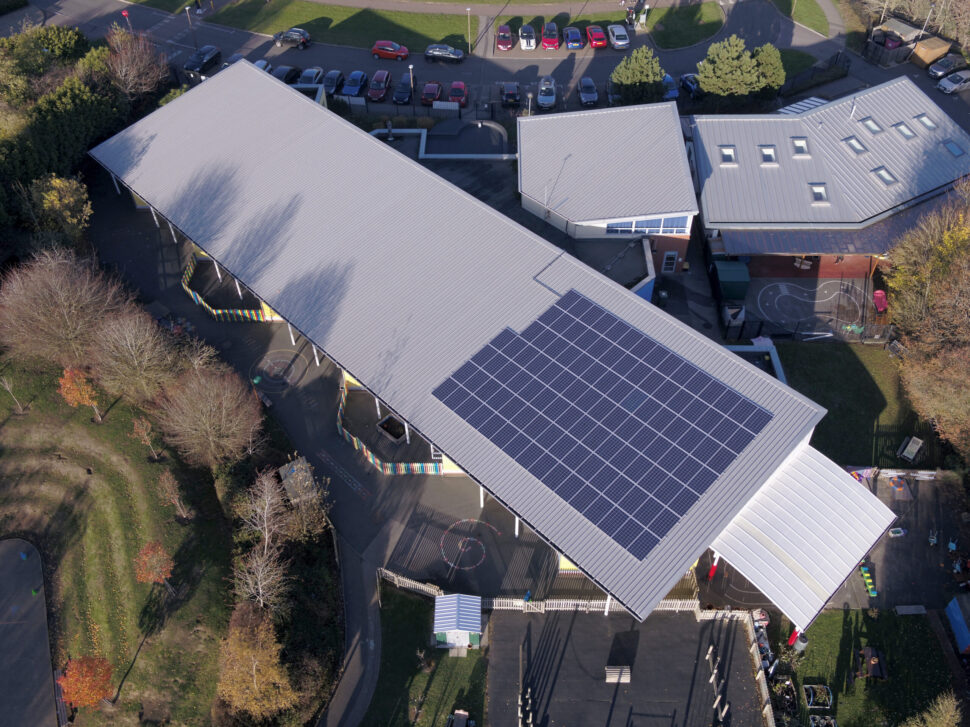 Solar PV by Ineco Energy on Merebrook School